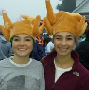 Keep active during the holidays by maintaining your routine or joining fun community activities like a Turkey Trot.
