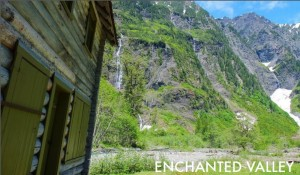 Tour guide Douglas Scott discovered Enchanted Valley as a young boy.   Photo credit: Exotic Hikes