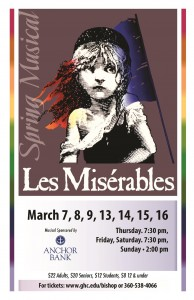 Les Miserables @ Bishop Center for Performing Arts | Aberdeen | Washington | United States