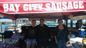 Bay City Sausage will be serving fresh sausage at festivals across Grays Harbor all summer long.