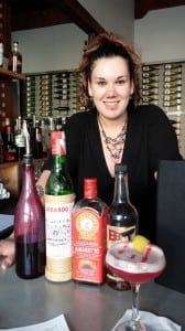 """Izzy Mix"" is the head mixologist at Rediviva in Aberdeen."