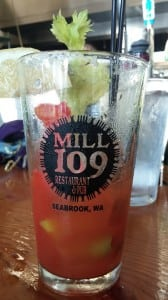 You'll love Mill 109's take on a classic bloody Mary.