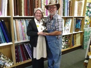 Sue and Ken Rausch are the proud owners of Quilt Harbor in Aberdeen, Wash.