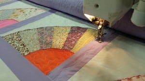 Sue teaches a variety of quilting classes where students can learn new quilting techniques.