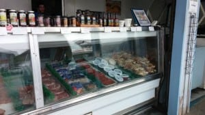Mike's sells only wild caught fish, so you know you'll find something fresh in the case at this beloved Grays Harbor market.