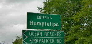 The town of Humptulips wasn't named after a flower.