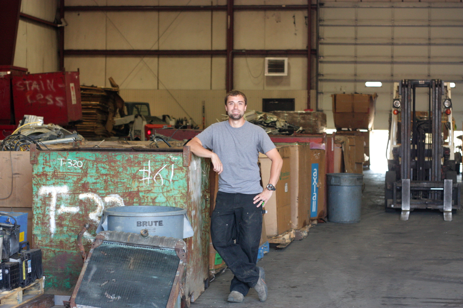 Zach Rognlin Raises the Bar for Scrap Metal Yards at PayMore