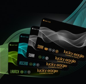 Redesigned Players Club cards are just one of the new features Lucky Eagle Casino Players Club members will enjoy.