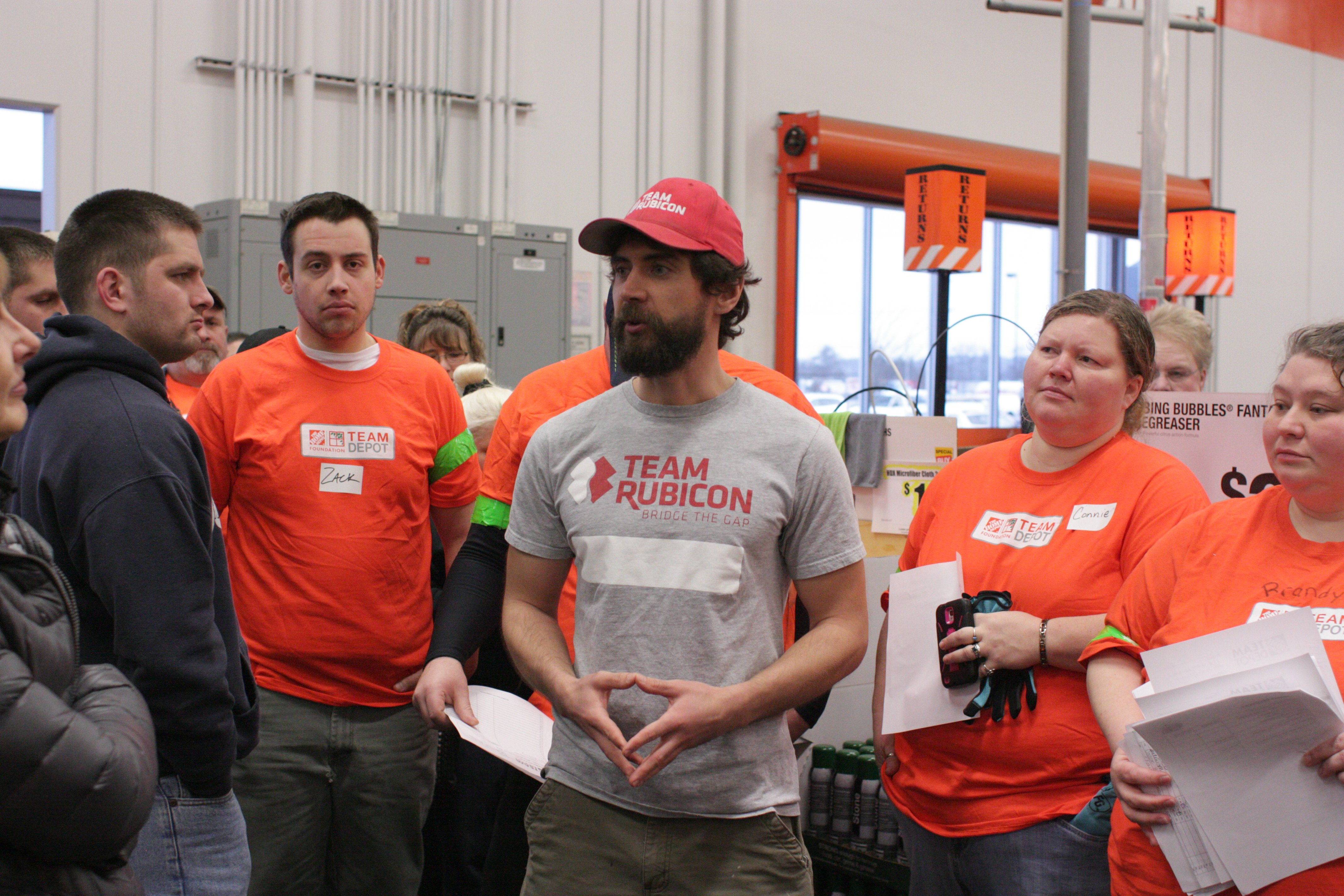 Home Depot Corrals Volunteers to Showcase the Spirit of the Harbor