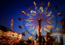 Grays Harbor County Fair ferris wheel