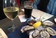 Raw oysters, Taylor Shellfish Farms.