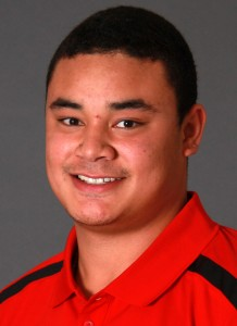 A four-time starter for Aberdeen High School, Kaleb Levao will play in his first college game on Saturday, September 5.