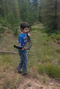 It is never to early to get your kids out in nature. Photo credit: Tyler Staley