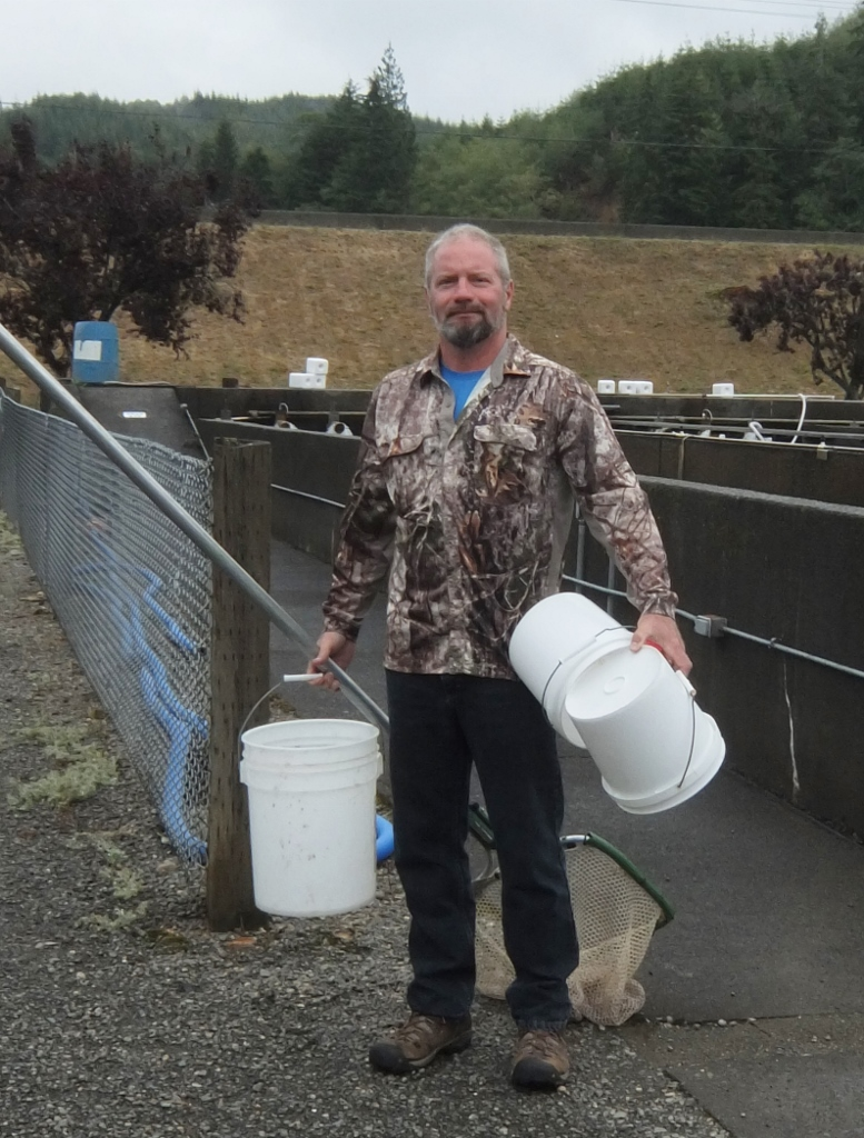 The Lake Aberdeen Steelhead Hatchery Welcomes Visitors To ...