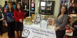 grays harbor teen homeless backpack