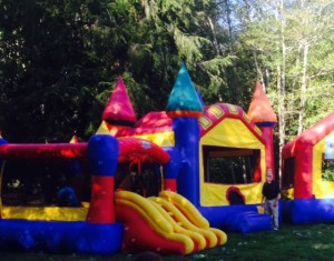 Bring the fun to your own backyard or property by renting one or more bouncy houses from Aberdeen-based Bouncy House Rentals. Rates are $30 per hour with additional set-up fee. Call 360-500-9647.