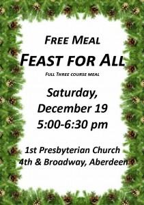 Feast for All @ Aberdeen Presbyterian Church | Aberdeen | Washington | United States
