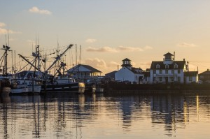 The scenic, and productive, marina is the heart of Westport. Photo credit: LostRiver Photography.