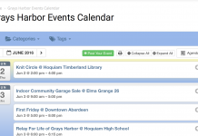 grays harbor events