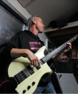 Bassist Jeff Perrin also plays in Dukes of Swing, the Aberdeen Elks' Big Band-style music group. Photo credit: Gale Hemmann