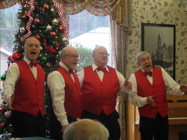 Barbershop Music : Livin? Harmony Delivers Barbershop Music With Style ...
