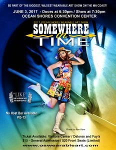 Ocean Shores Wearable Art Show - Somewhere In Time @ Ocean Shores Convention Center | Ocean Shores | Washington | United States