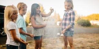 friends landing camping