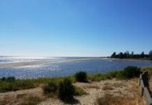 Washaway beach
