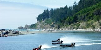 Taholah Days Canoe Racers