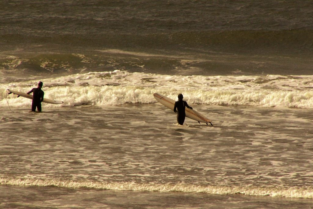 Surfing Westport