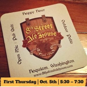HYPE - First Thursday @ 8th Street Ale House | Hoquiam | Washington | United States