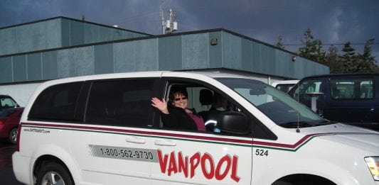 vanpool grays harbor