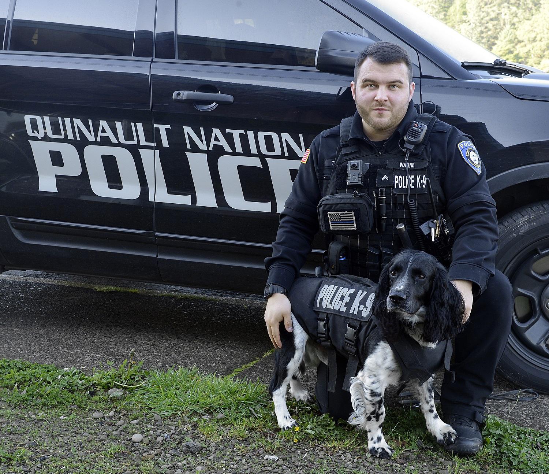 Quinault Nation Police Department S K9 Dog Receives Body Armor Graysharbortalk