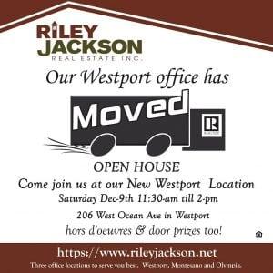 Open House @ Riley Jackson Real Estate Westport Office | Westport | Washington | United States