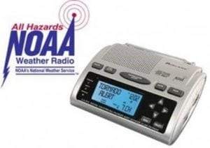 Weather Radio Alert