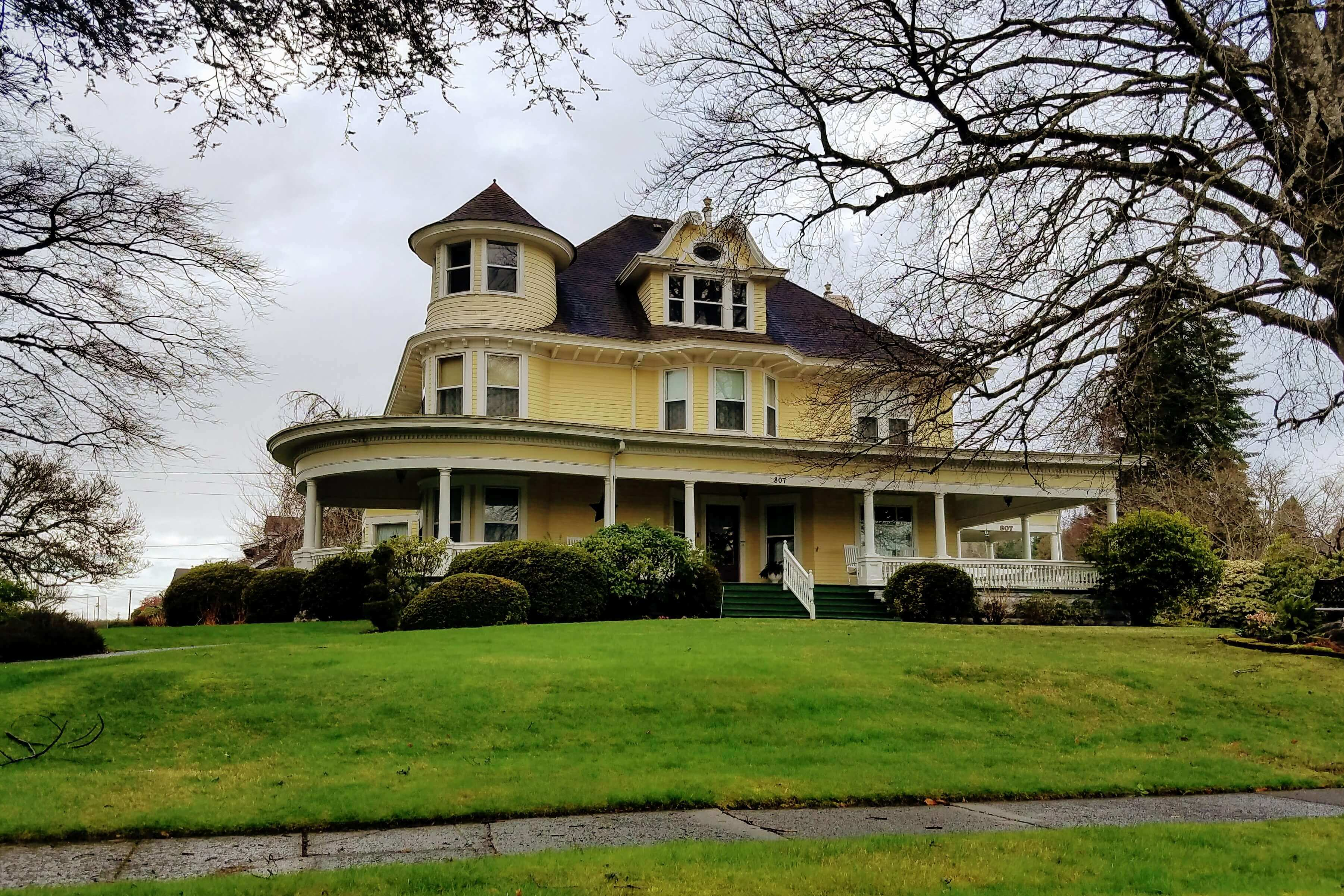 Grays Harbor Historic Homes Aberdeen Mansion Hulbert Historic Homes