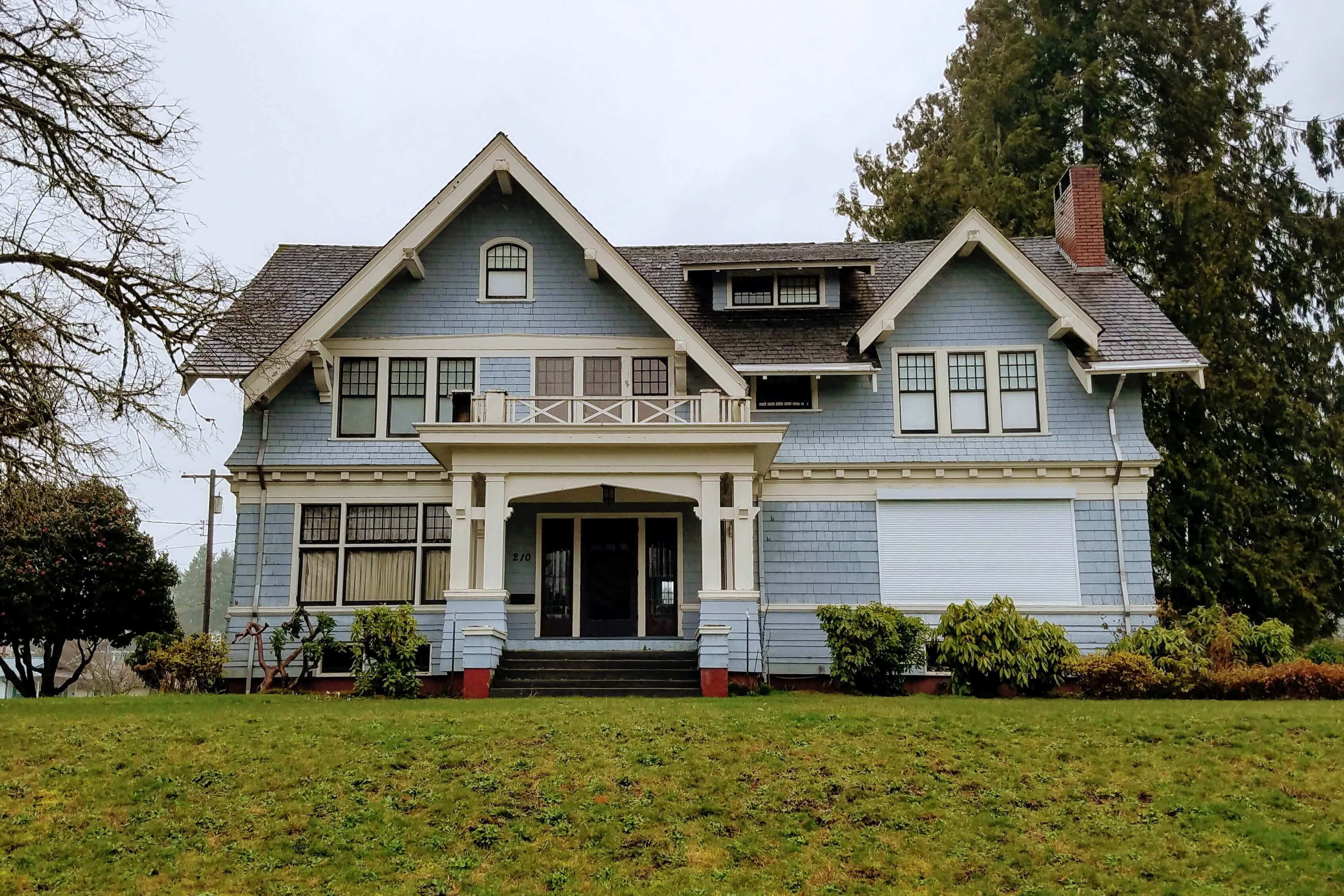 Grays Harbor Historic Homes France Mansion Montesano Historic Home