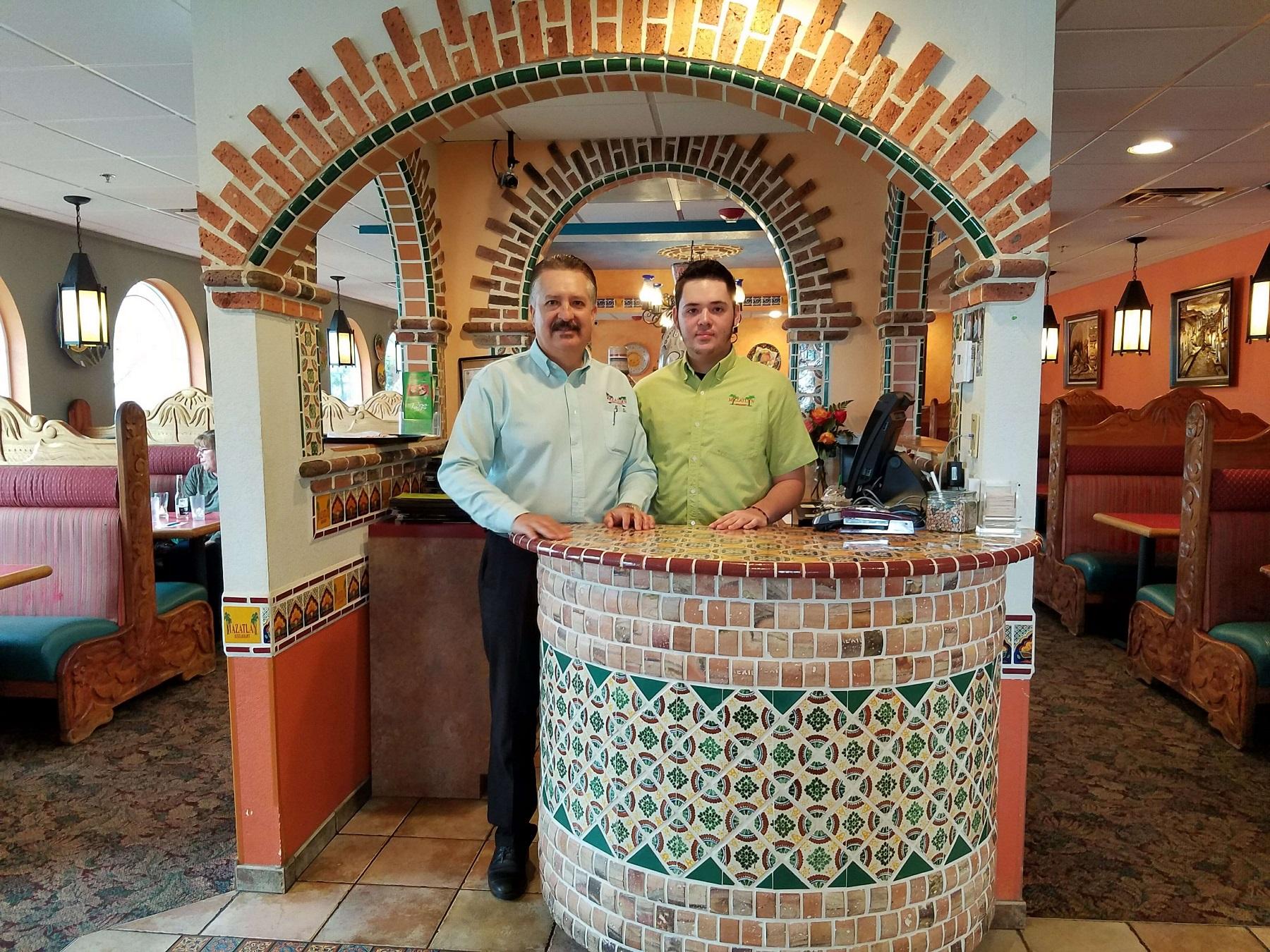 Mazatlan Mexican Family Restaurant Aberdeen Francisco Arceo and his son