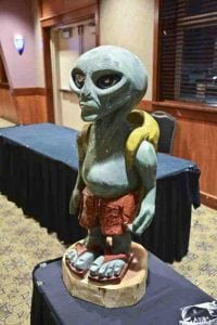 UFO Summit 2018 alien figure