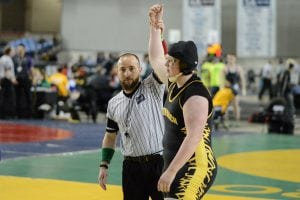 grays harbor girls state wrestling Furh at State Tournament