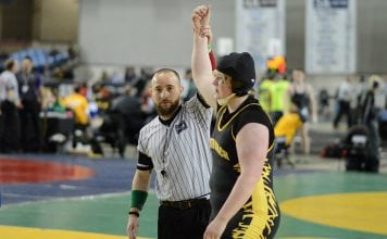grays harbor girls state wrestling Furh at State Tournament