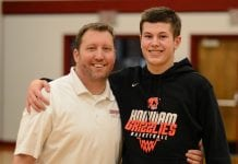 hoquiam high school basketball eccles father and son