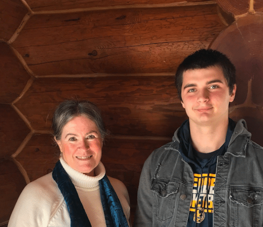 Aberdeen Rotarians Student of the Month Daniel Elrod