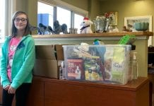 Alyssa Caskey Paws of Grays Harbor donations at paws