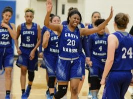 Grays Harbor College womens basketball Alexia Thrower