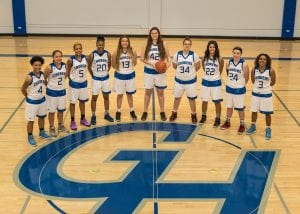 Grays Harbor College womens basketball team