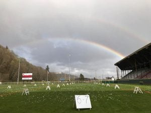 Grays Harbor Easter Activities Olympic Stadium Easter egg hunt