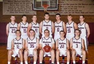 Montesano state basketball team