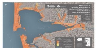 Southwest Washington Tsunami Inundation Hazard Map