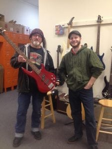 The Garage Music and Arts Center Aberdeen jr lakey and man smiling